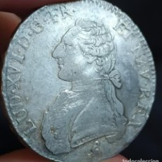 Monedas antiguas de Europa: FRANCIA 1 ECU LUIS XVI 1783. Lote 199135280