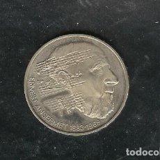 Monedas antiguas de Europa: SUIZA. 5 FRANCS 1983. ERNEST ANSEMET. CUPRONIQUEL. Lote 200120917