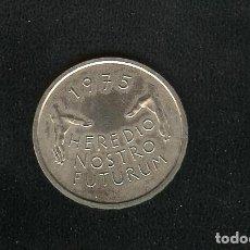 Monedas antiguas de Europa: SUIZA. 5 FRANCS 1975. HEREDIO NOSTRO FUTURUM. CUPRONIQUEL. Lote 200122116