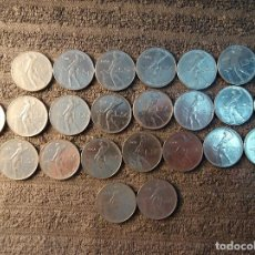 Monedas antiguas de Europa: ITALIA - 50 LIRAS, REPUBLICA - LOTE DE 23 MONEDAS, VER DESCRIPCION.. Lote 200246707