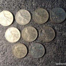 Monedas antiguas de Europa: ITALIA - 20 CENTESIMI 1908 A 1922, MUJER CON ESPIGA - LOTE DE 9 MONEDAS. Lote 200549020