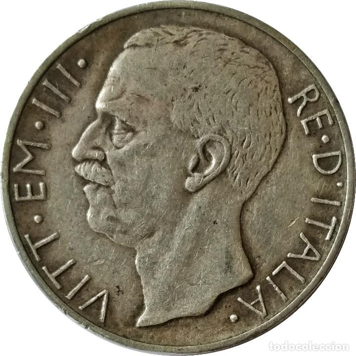 Monedas antiguas de Europa: Italia. 10 liras de 1927, R. * FERT * (Rey Vittorio Emanuele III). (115) - Foto 2 - 200657262