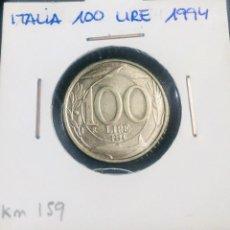 Monedas antiguas de Europa: ITALIA 100 LIRE 1994. Lote 200806608