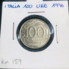 Monedas antiguas de Europa: ITALIA 100 LIRE 1996. Lote 200806755