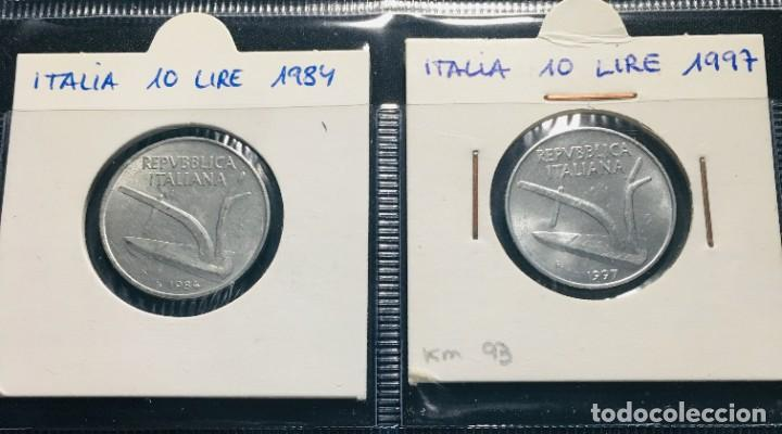 Monedas antiguas de Europa: ITALIA: LOTE DE 13 MONEDAS ANTIGUAS CON DIFERENTES FECHAS - Foto 3 - 201218905
