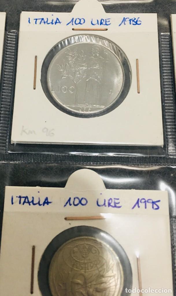 Monedas antiguas de Europa: ITALIA: LOTE DE 15 MONEDAS DE 100 LIRE CON DIFERENTES FECHAS - Foto 4 - 201219640