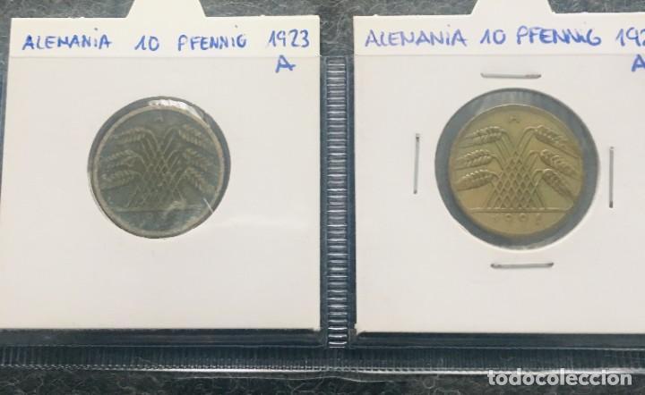 Monedas antiguas de Europa: ALEMANIA LOTE DE 4 MONEDAS DE 10 PFENNIG DE DIFERENTES FECHAS - Foto 3 - 201489713