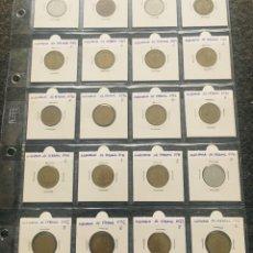 Monedas antiguas de Europa: ALEMANIA LOTE DE 20 MONEDAS DE 10 PFENNIG DE DIFERENTES FECHAS . Lote 201490280