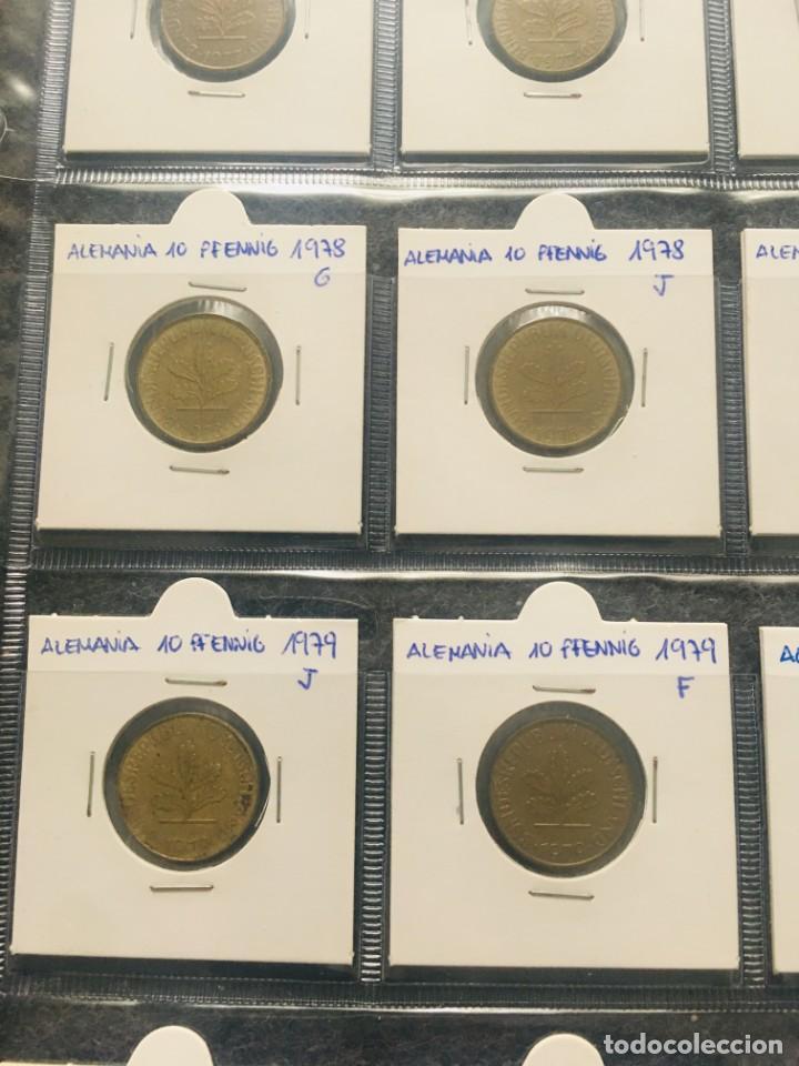 Monedas antiguas de Europa: ALEMANIA LOTE DE 20 MONEDAS DE 10 PFENNIG DE DIFERENTES FECHAS - Foto 2 - 201490406