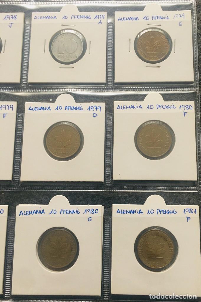 Monedas antiguas de Europa: ALEMANIA LOTE DE 20 MONEDAS DE 10 PFENNIG DE DIFERENTES FECHAS - Foto 3 - 201490406