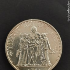 Monnaies anciennes de France: REPUBLICA FRANCESA 10 FRANCOS PLATA 1968 HERCULES FRANCIA. Lote 201776215
