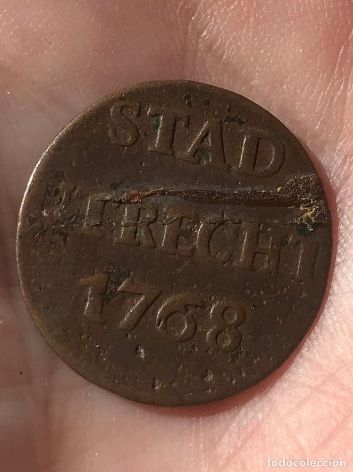 MONEDA DE HOLANDA. 1 DUIT DE 1768 UTRECH (Numismática - Extranjeras - Europa)