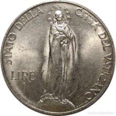 Monedas antiguas de Europa: CIUDAD DEL VATICANO. 1 LIRA DE 1936 (PAPA PIO XI). (074).. Lote 202112546