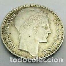 Monedas antiguas de Europa: FRANCIA MONEDA 10 FRANCOS TURIN AÑO 1931 PLATA 10 GRAMOS KM#878. Lote 292393043