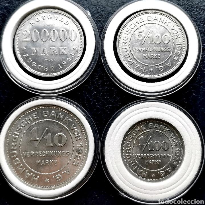 Monedas antiguas de Europa: DIFÍCIL Y MÁS ASÍ. SC- Y SIN CIRCULAR. Alemania notgeld 1923. Ver descripción - Foto 2 - 201285161