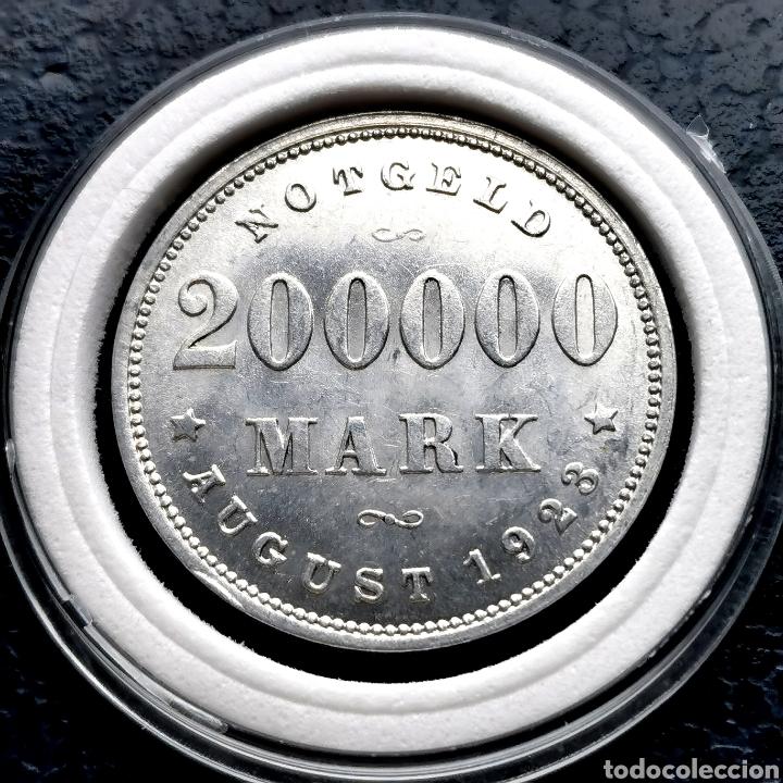 Monedas antiguas de Europa: DIFÍCIL Y MÁS ASÍ. SC- Y SIN CIRCULAR. Alemania notgeld 1923. Ver descripción - Foto 3 - 201285161
