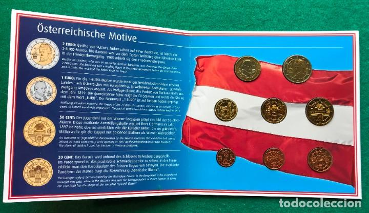 AUSTRIA EMISIÓN DE EUROS DE 2002 (Numismática - Extranjeras - Europa)