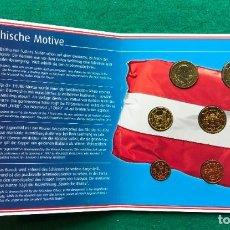 Monedas antiguas de Europa: AUSTRIA EMISIÓN DE EUROS DE 2002. Lote 202593486