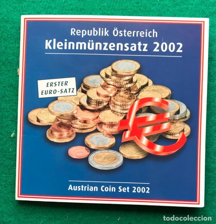 Monedas antiguas de Europa: austria emisión de euros de 2002 - Foto 2 - 202593486