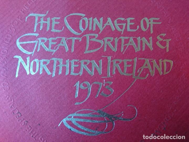 THE COINAGE OF GREAT BRITAIN AND NORTHERN IRELAND 1973 (Numismática - Extranjeras - Europa)