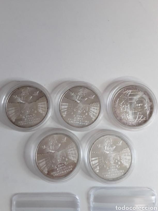 Monedas antiguas de Europa: Lote 4- 7 monedas de plata de 10 Marcos - Foto 3 - 203442838