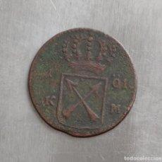 Monedas antiguas de Europa: 1 ORE 1719 SUECIA. Lote 143395342