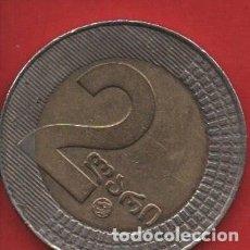 Monedas antiguas de Europa: GEORGIA, 2 LAARI 2006, MBC. Lote 203861943