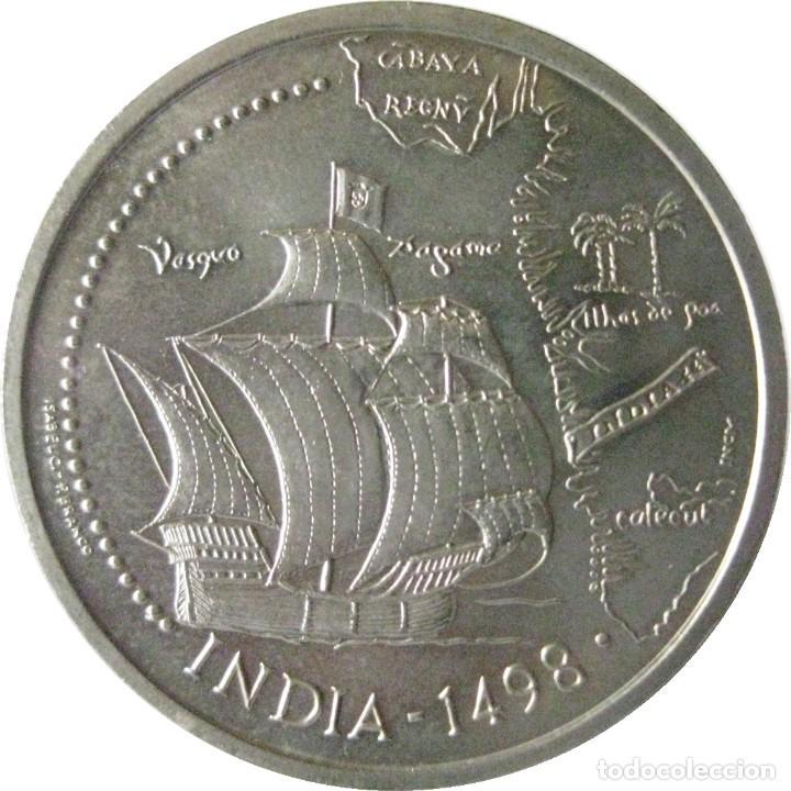 PORTUGAL, 200 ESCUDOS 1998 - INDIA. (Numismática - Extranjeras - Europa)