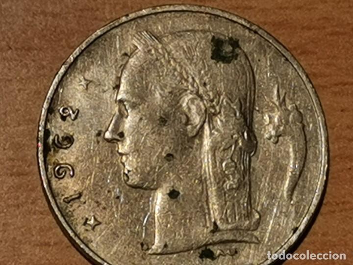 BÉLGICA- BELGIE 1 FRANCO BELGA 1962 BELGICA (Numismática - Extranjeras - Europa)
