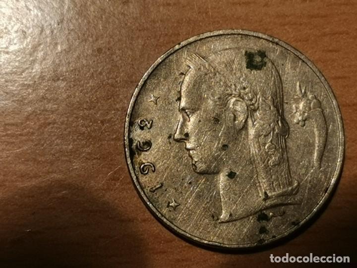 Monedas antiguas de Europa: BÉLGICA- BELGIE 1 FRANCO BELGA 1962 BELGICA - Foto 2 - 204452461