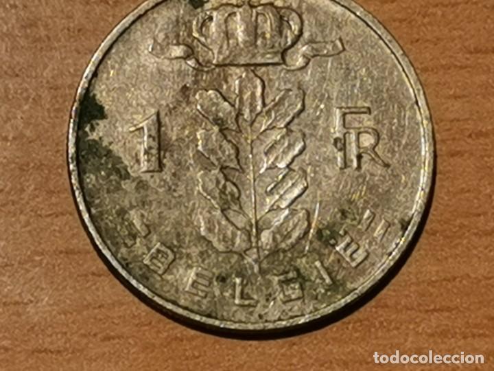 Monedas antiguas de Europa: BÉLGICA- BELGIE 1 FRANCO BELGA 1962 BELGICA - Foto 4 - 204452461
