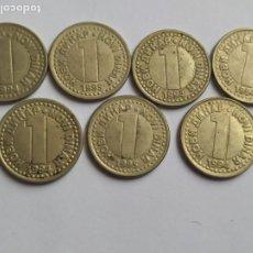 Monedas antiguas de Europa: ANTIGUAS DINARA DE DE REPÚBLICA JUGOSLSVIJA. Lote 204487728