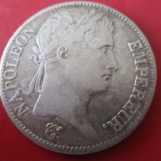 Monedas antiguas de Europa: FRANCIA. 5 FRANCOS DE NAPOLEON. 1811. #SG. Lote 204502403