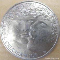 Monedas antiguas de Europa: PORTUGAL, 25 ESCUDOS 1979 - NIÑOS - AMOR./ NUEVA, SIN USAR.. Lote 205193233