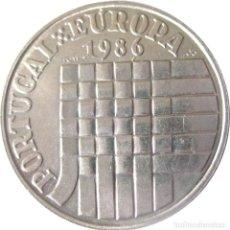 Monedas antiguas de Europa: PORTUGAL, 25 ESCUDOS 1986 - MERCADO COMÚN EUROPEO.. Lote 205197016