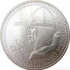 Monedas antiguas de Europa: PORTUGAL, 100 ESCUDOS 1985 - FALLECIMIENTO REY ALFONSO HENRIQUES./ NUEVA, SIN USAR.. Lote 205200731