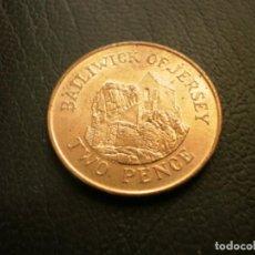 Monedas antiguas de Europa: JERSEY 2 PENIQUES 1990. Lote 205696155