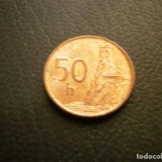Monedas antiguas de Europa: ESLOVAQUIA 50 HALERU 2000. Lote 205696831