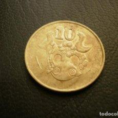 Monedas antiguas de Europa: CHIPRE 10 CENTS 1994. Lote 205722500