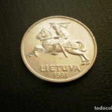 Monedas antiguas de Europa: LITUANIA 5 CENTAI 1991. Lote 205723042