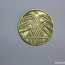 Monedas antiguas de Europa: ALEMANIA 10 REICHSPFENNIG 1934 A (1314). Lote 205866278