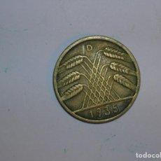 Monedas antiguas de Europa: ALEMANIA 10 REICHSPFENNIG 1935 D (1316). Lote 205866318
