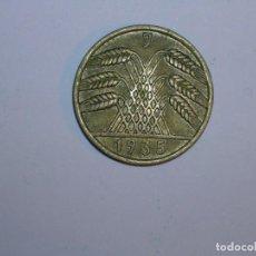 Monedas antiguas de Europa: ALEMANIA 10 REICHSPFENNIG 1935 J (1320). Lote 205866506