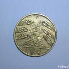 Monedas antiguas de Europa: ALEMANIA 10 REICHSPFENNIG 1936 F (1323). Lote 205866691