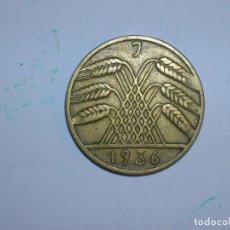 Monedas antiguas de Europa: ALEMANIA 10 REICHSPFENNIG 1936 J (1325). Lote 205866778