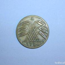 Monedas antiguas de Europa: ALEMANIA 5 RENTENPFENNIG 1924 A (1327). Lote 205866868
