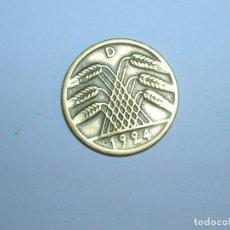 Monedas antiguas de Europa: ALEMANIA 5 RENTENPFENNIG 1924 D (1328). Lote 205866912