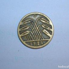 Monedas antiguas de Europa: ALEMANIA 5 RENTENPFENNIG 1924 G (1330). Lote 205867028