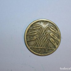 Monedas antiguas de Europa: ALEMANIA 5 RENTENPFENNIG 1924 G (1332). Lote 205867100