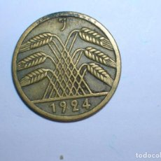 Monedas antiguas de Europa: ALEMANIA 5 RENTENPFENNIG 1924 J (1333). Lote 205867143